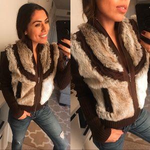 Cozy fur jacket